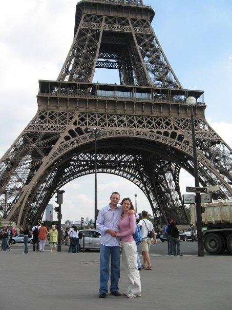 Michelle Holm Eiffel Tower Paris, France