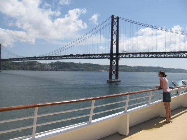 Michelle Holm Lisbon, Portugal bridge