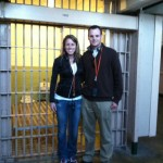 Alcatraz prison with Tyler and Michelle Holm San Francisco, CA