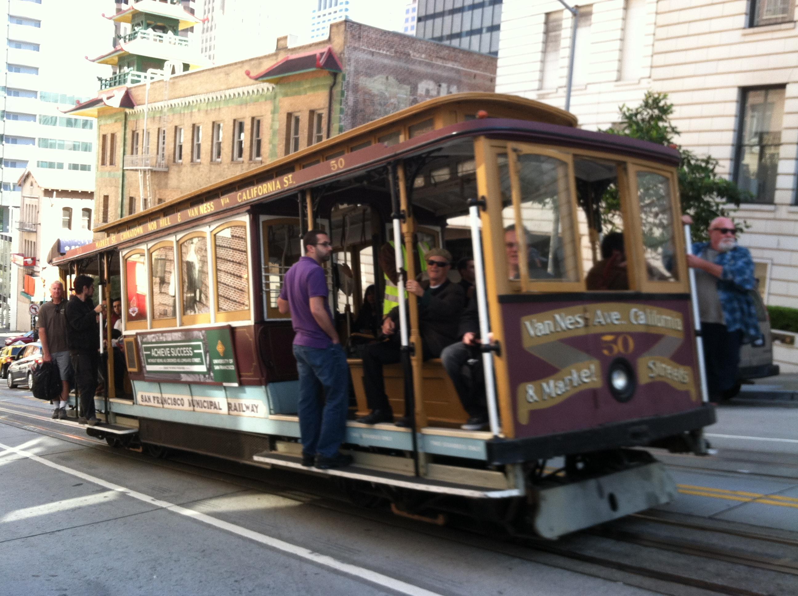 Trolley, San Francisco, CA