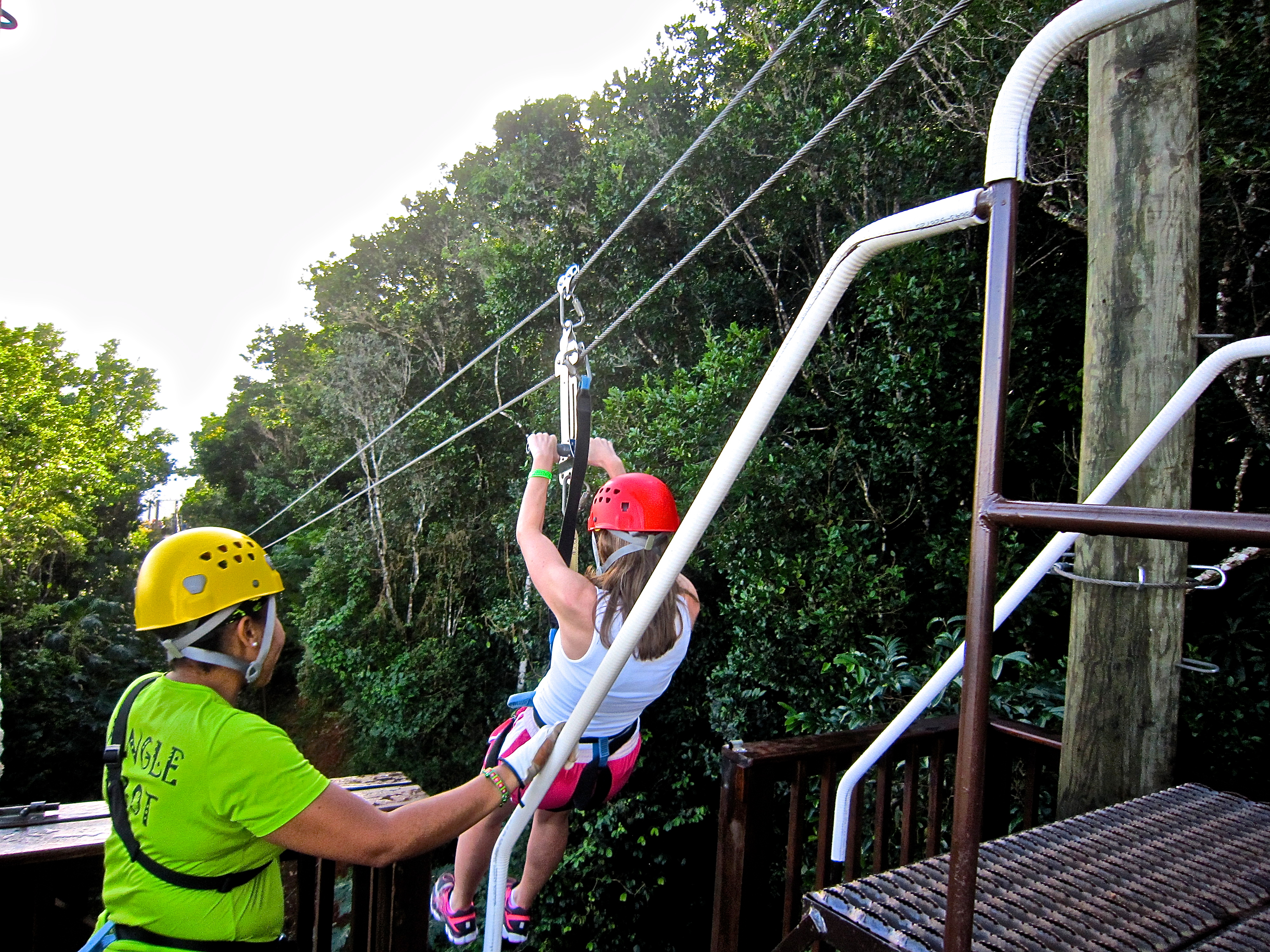 zip lining michelle holm