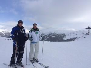 Michelle Holm Skiing Denver, CO