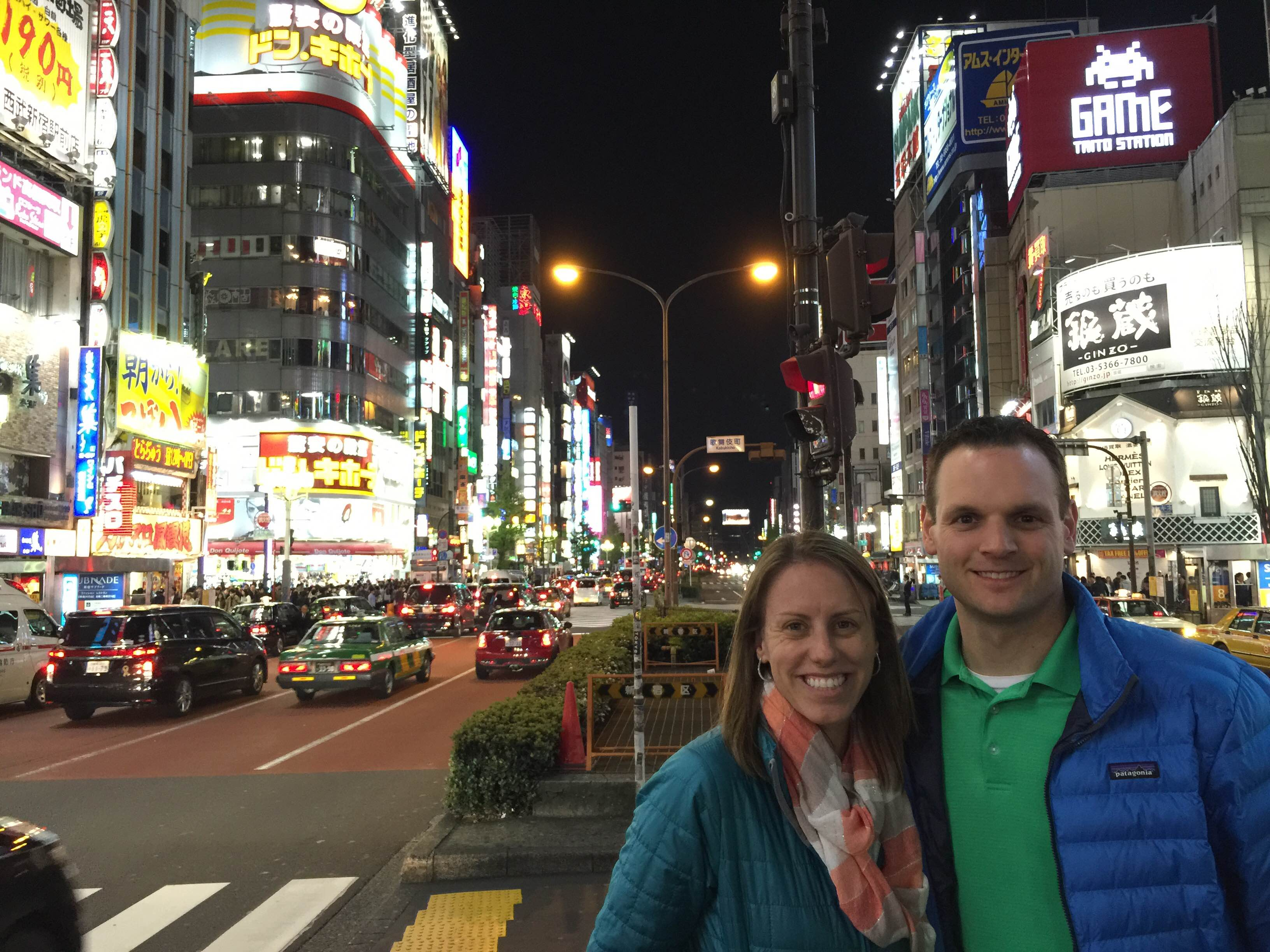 Michelle Holm in Tokyo, Japan