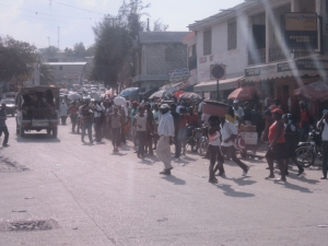 Haiti street picture