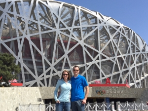 Michelle Holm Olympic Birdsnest Beijing, China