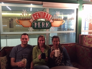 Michelle Holm Central Perk Beijing, China
