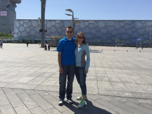 Michelle Holm at the Olympics Beijing, China