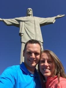 Michelle Holm at Christ the Redeemer